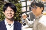 漫画家の橋本さんとファシリテーターの森さんのコラージュ写真